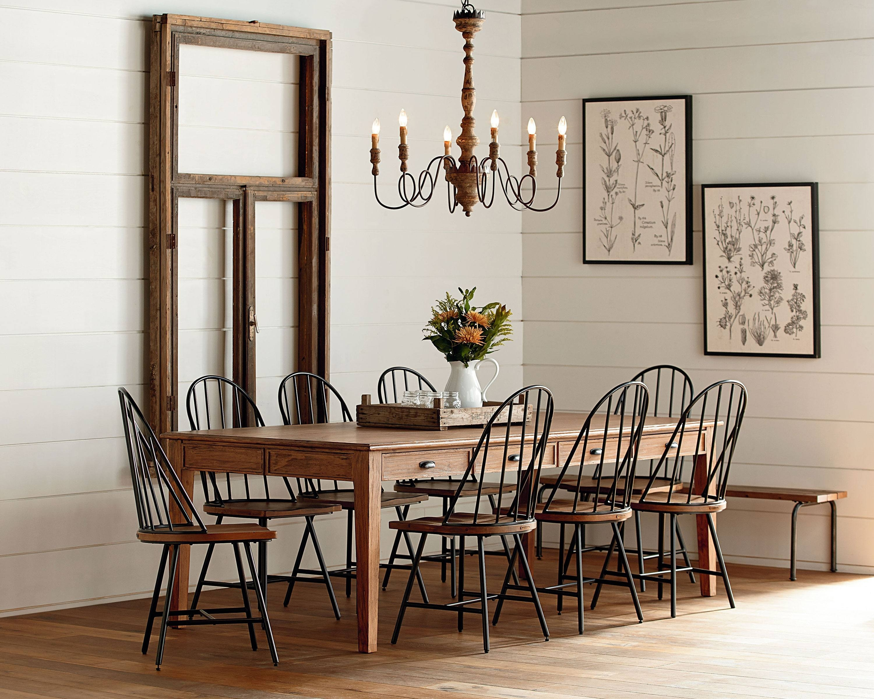 Keeping Table Dining Room – Magnolia Home With Regard To Newest Magnolia Home Keeping Dining Tables (Image 11 of 20)