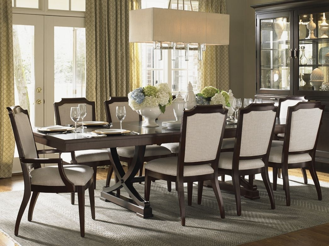 "Kensington Place"" Collection, Westwood Rectangular Dining Table With With Regard To Most Up To Date Norwood 7 Piece Rectangular Extension Dining Sets With Bench, Host & Side Chairs (View 5 of 20)"