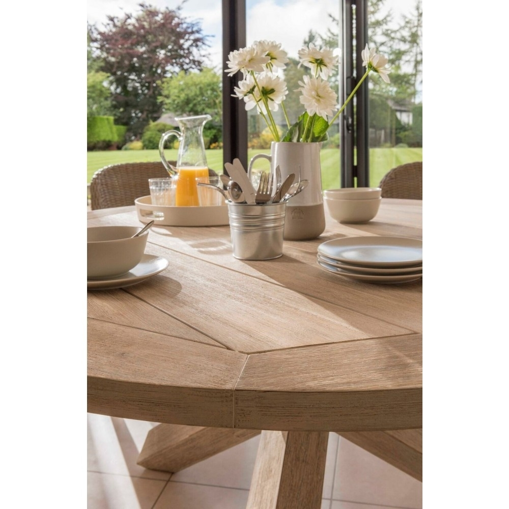 Kettler Cora 240Cm X 100Cm Rectangular Acacia Wooden Dining Table Intended For 2017 Cora Dining Tables (View 20 of 20)