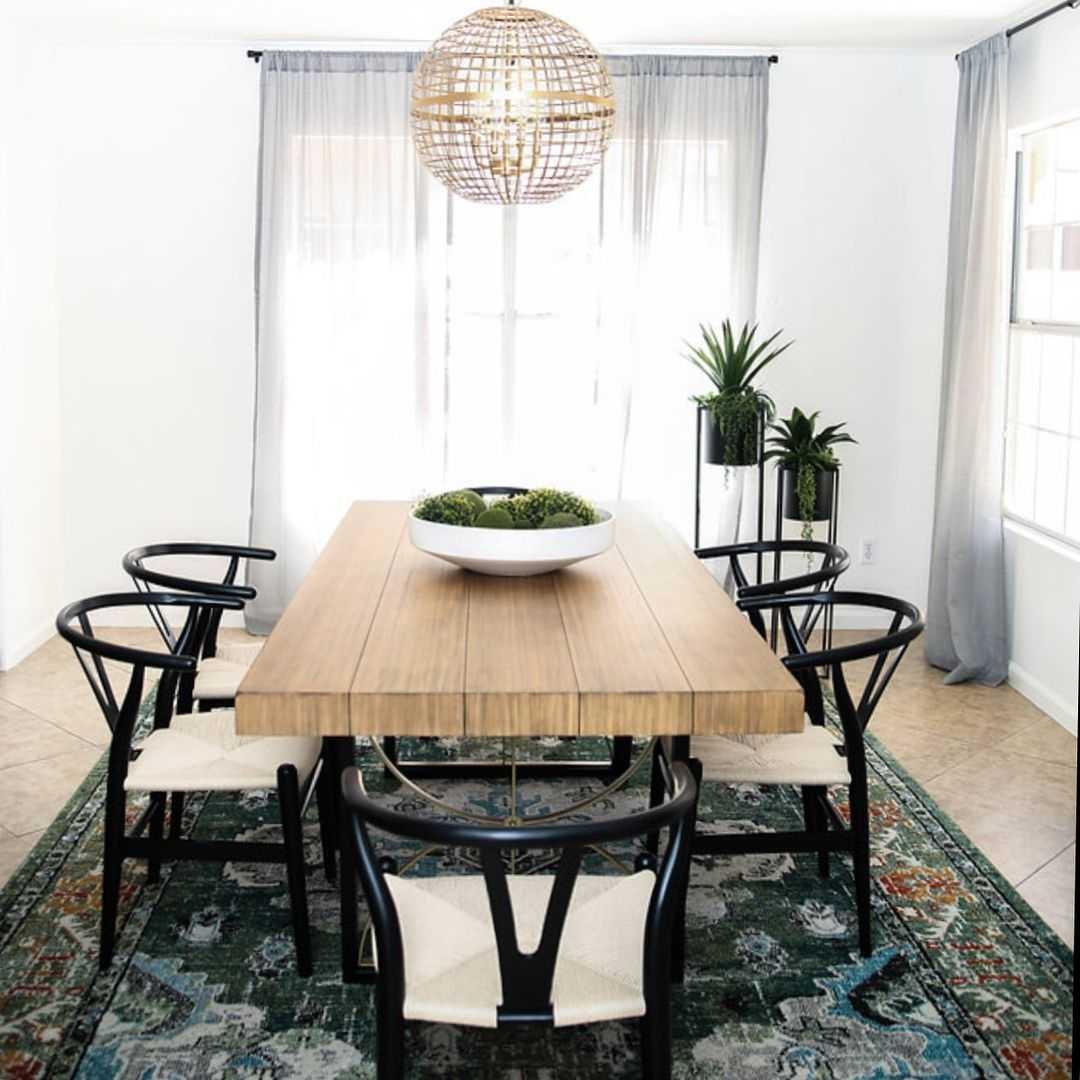 Kimberlykayinteriors Dining Room Featuring The Magnolia Home Intended For Most Popular Magnolia Home White Keeping 96 Inch Dining Tables (Image 9 of 20)
