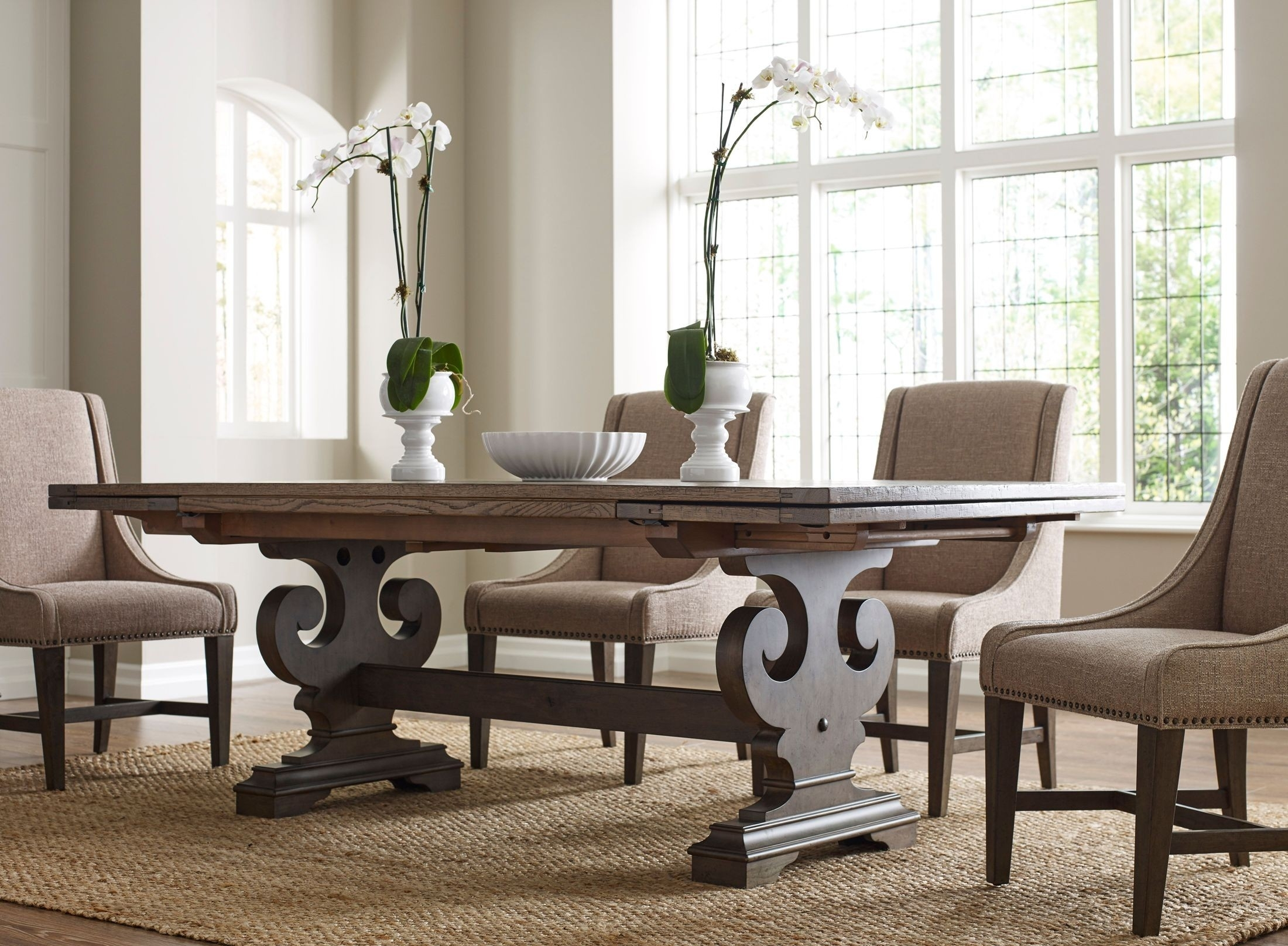Kincaid Greyson Crawford Refractory Dining Room Set – Greyson Within Current Crawford Rectangle Dining Tables (Image 13 of 20)