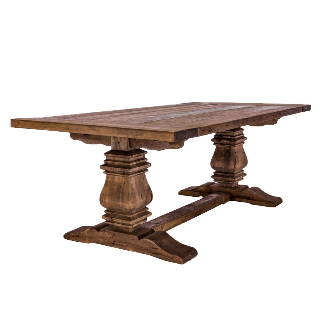Kingswood Harvest Dining Table » Glamour & Woods Pertaining To Newest Amos 6 Piece Extension Dining Sets (Image 17 of 20)
