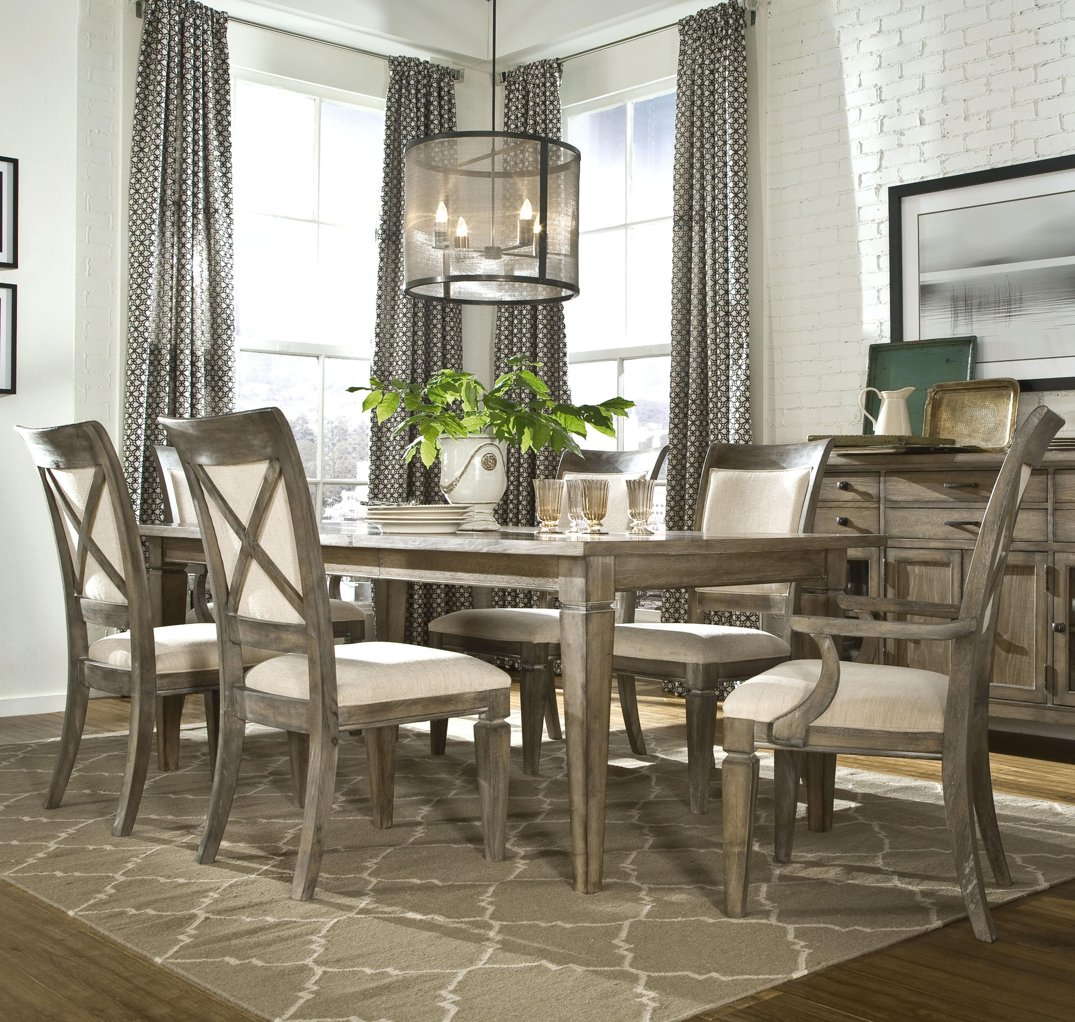 Kitchen Dinette Sets 7 Piece Dining Set Cheap 7 Piece Counter Height For Most Recent Jaxon Grey 5 Piece Round Extension Dining Sets With Upholstered Chairs (View 8 of 20)
