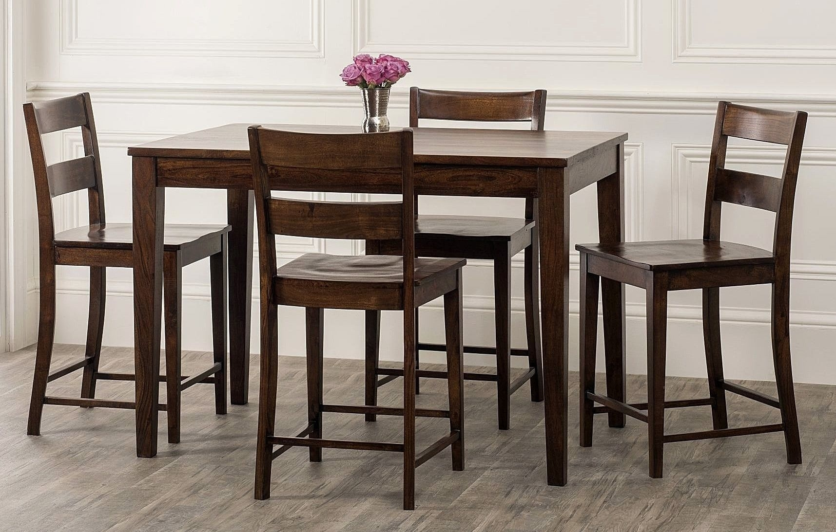 Kristopher 5 Piece Counter Height Dining Set | Products | Pinterest Inside Most Recently Released Hyland 5 Piece Counter Sets With Bench (View 18 of 20)