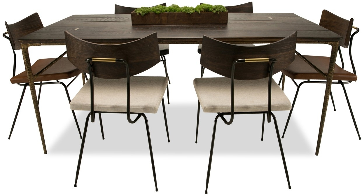 Kulu Dining Table With 2018 Helms 6 Piece Rectangle Dining Sets (Image 15 of 20)