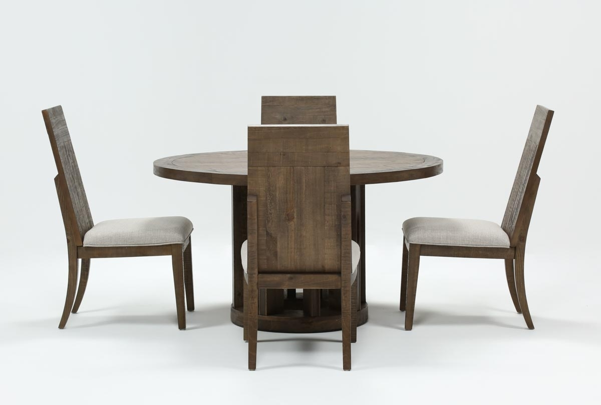 Lassen 5 Piece Round Dining Set | Living Spaces For Recent Lassen Round Dining Tables (View 2 of 20)