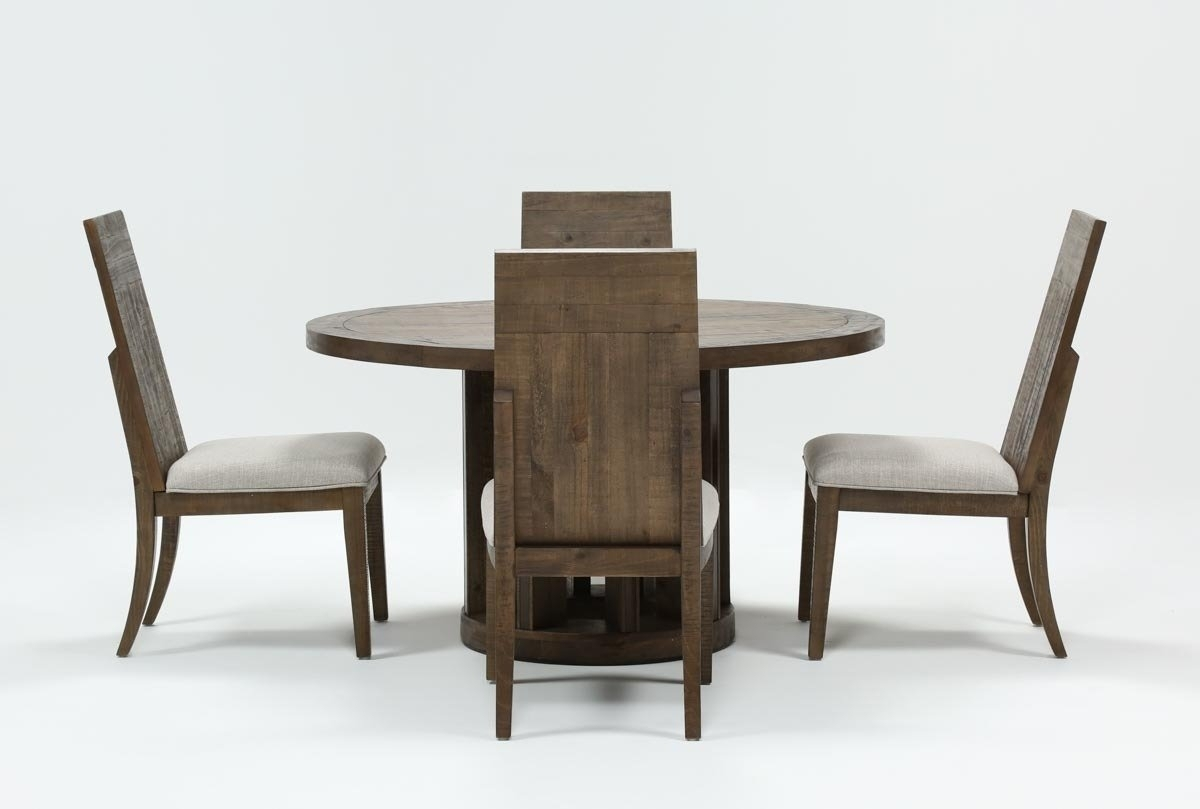 Lassen 5 Piece Round Dining Set | Living Spaces With Regard To Recent Lassen 5 Piece Round Dining Sets (Photo 1 of 20)