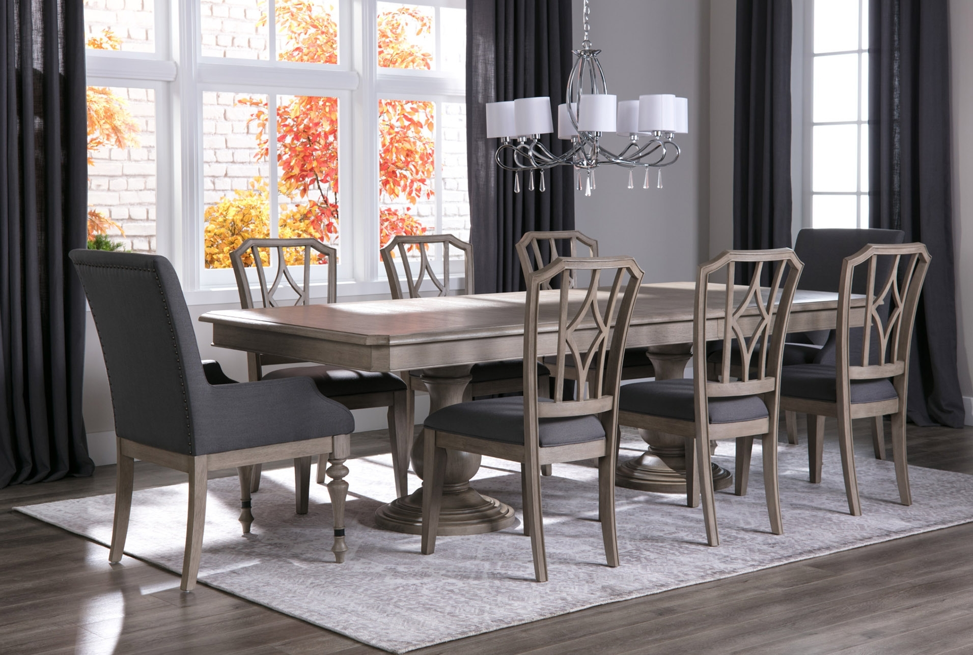Lätt Bockbord Att Bygga, Rundstav Som Fixerar Planken, Lät Within Latest Caira 7 Piece Rectangular Dining Sets With Diamond Back Side Chairs (Photo 9 of 20)