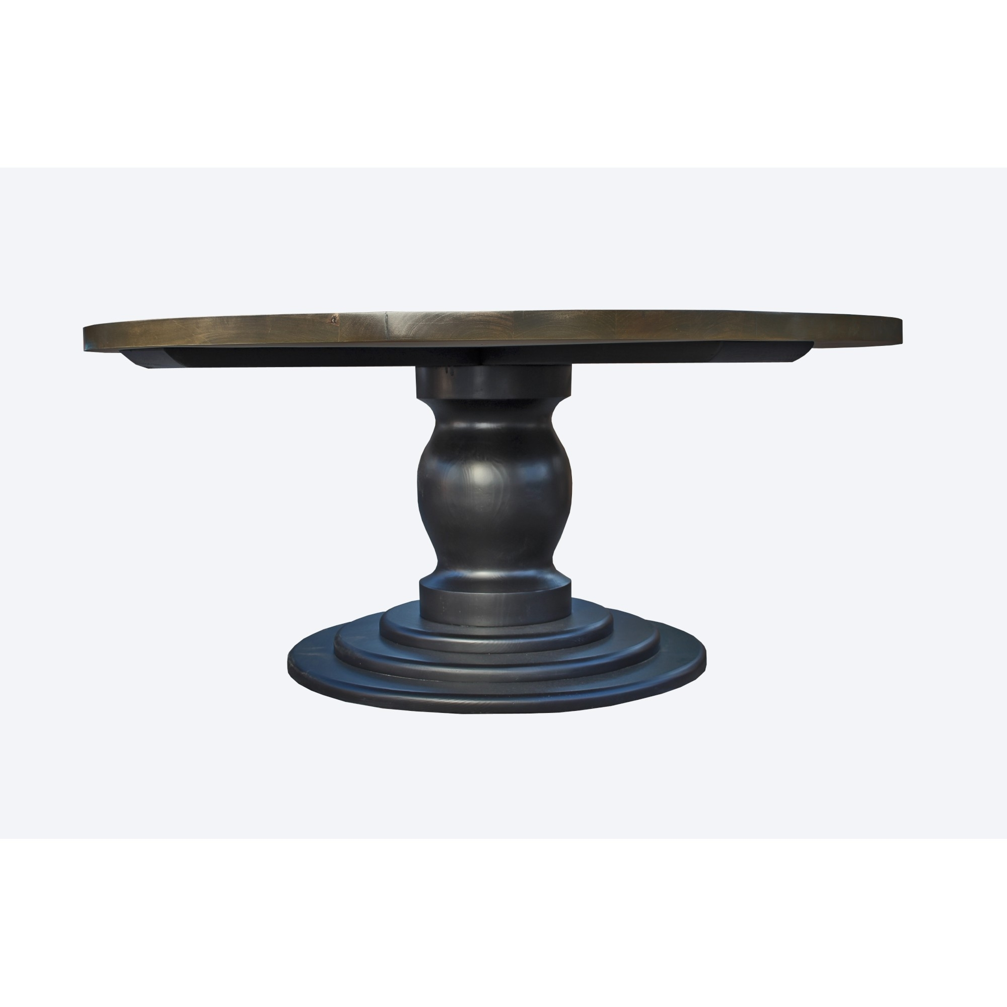 Lauren Round Pedestal Dining Table | Larry St (Image 7 of 20)
