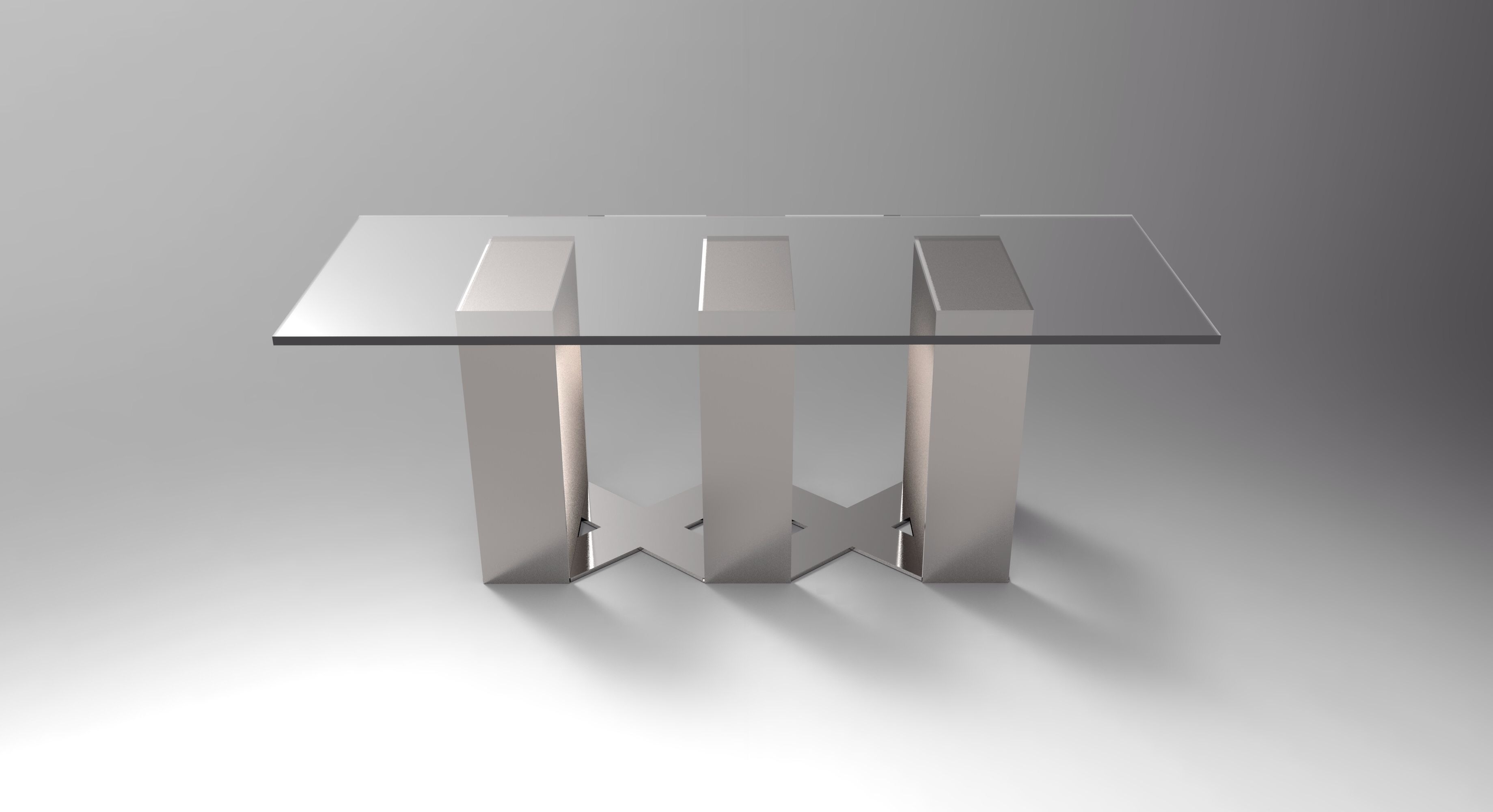 Laurent Muller Dining Table Side View | Laurent Muller Designs With Regard To 2017 Laurent Rectangle Dining Tables (Photo 1 of 20)