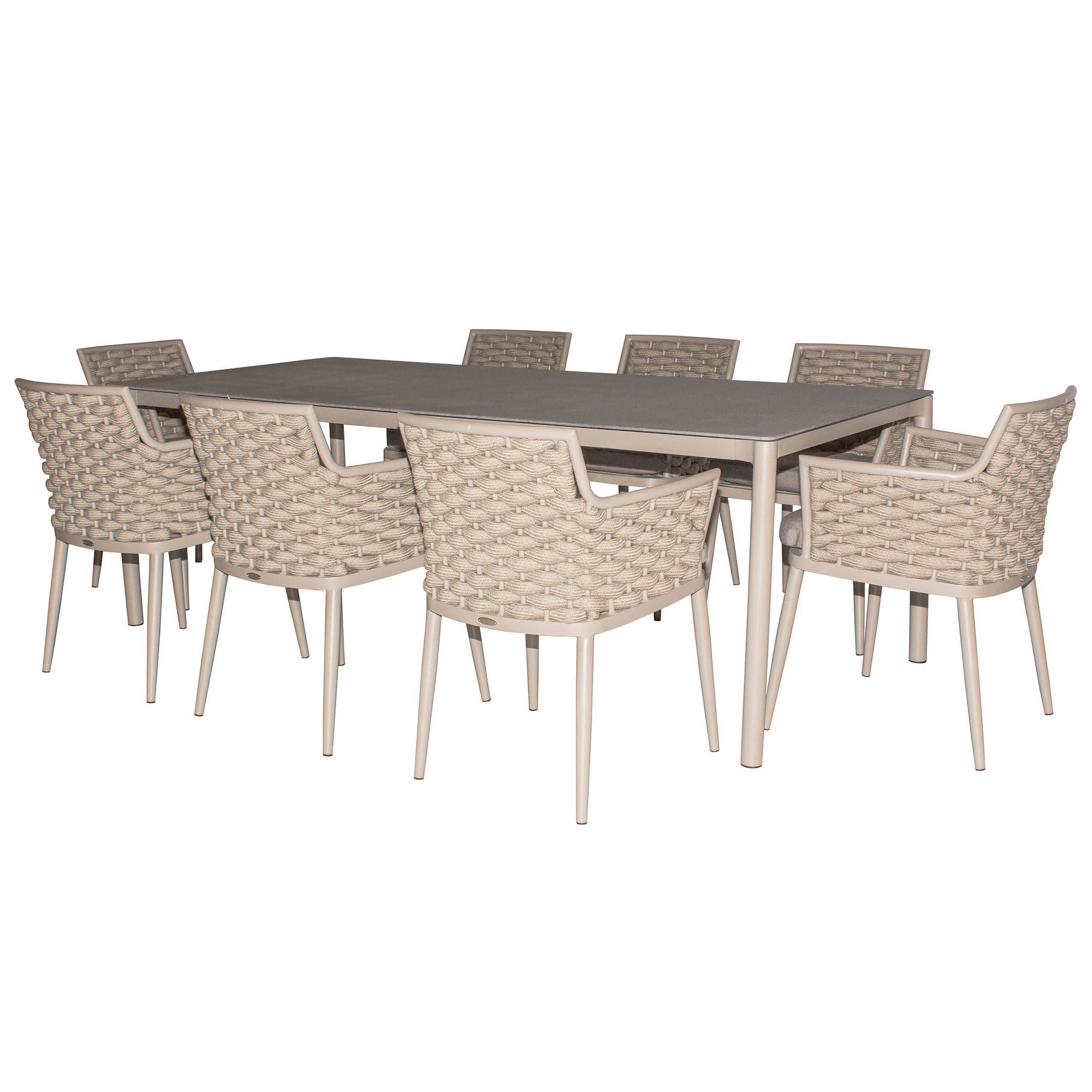 Leon Dining Set 8 Seater | Patio Warehouse Within Latest Leon Dining Tables (View 6 of 20)