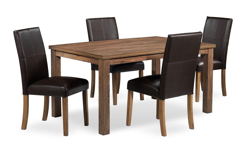 Leon – Ryder Dînettes Dînette 5 Mcx – 800$ | Dining Room Table With 2017 Leon Dining Tables (Image 6 of 20)