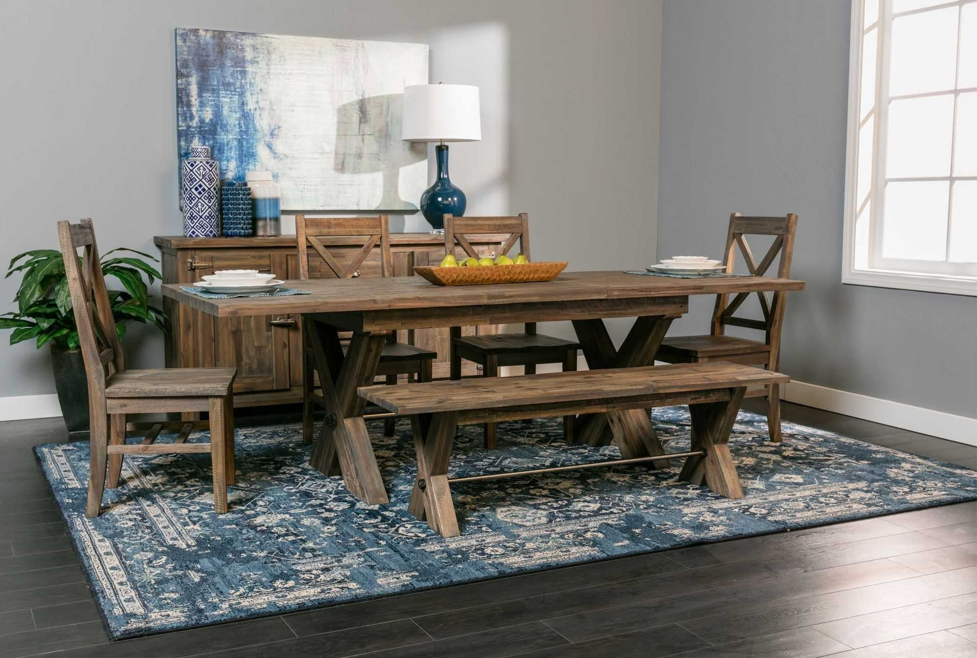 Likeable Living Spaces Dining Room Tables Of S #43937 | Forazhouse Throughout Latest Mallard 6 Piece Extension Dining Sets (Photo 7 of 20)