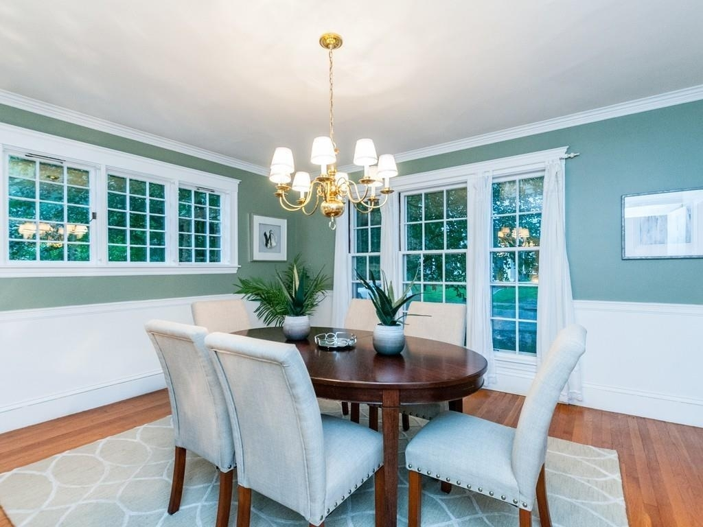 Listing: 35 Howland Road, Newton, Ma.| Mls# 72399190 | Dan Gorfinkle Within Newest Wyatt 6 Piece Dining Sets With Celler Teal Chairs (Photo 20 of 20)
