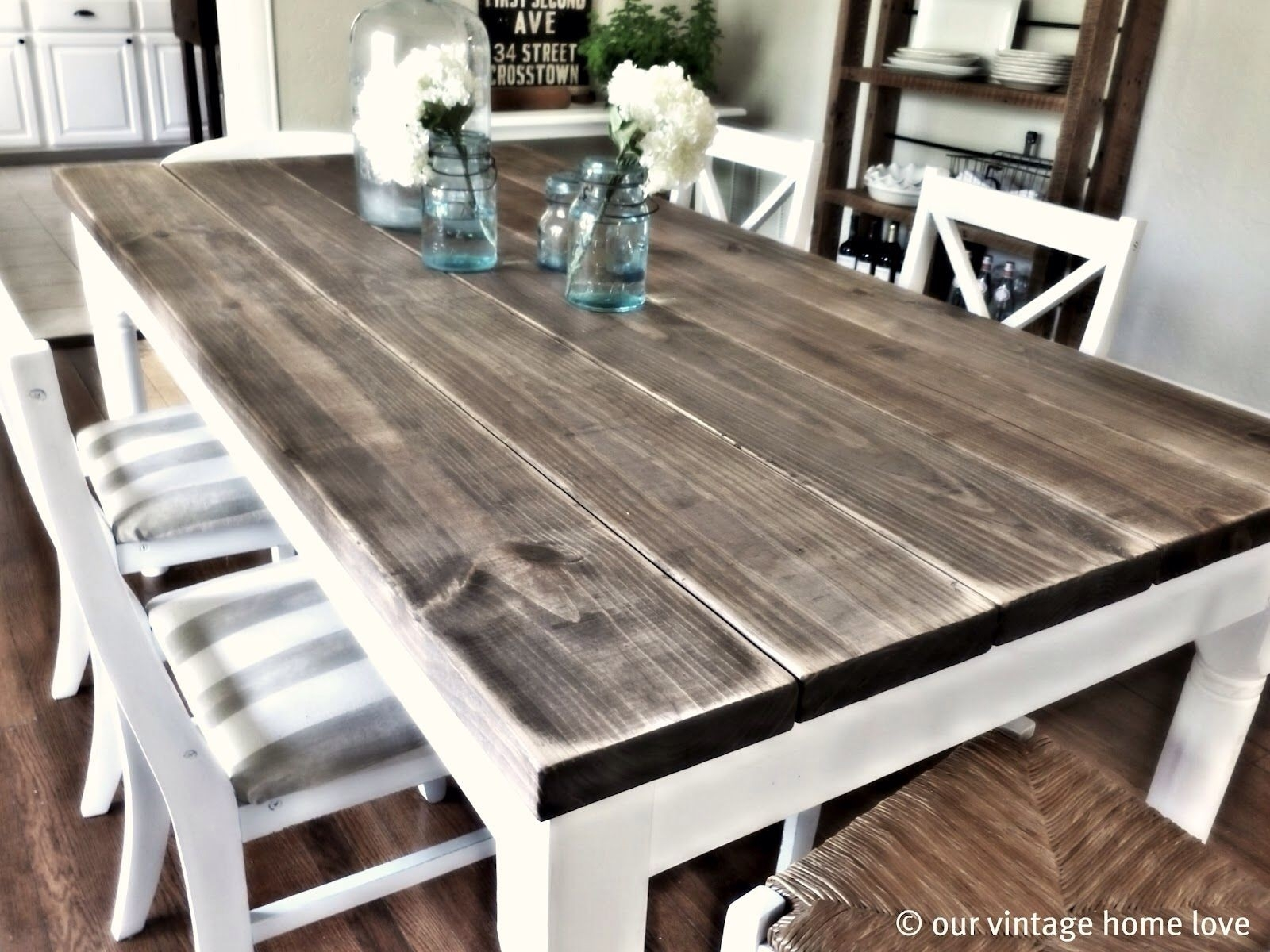 Long Wooden Dining Table Inspirational Impressive Farm Dining Tables Intended For 2018 Farm Dining Tables (Image 13 of 20)