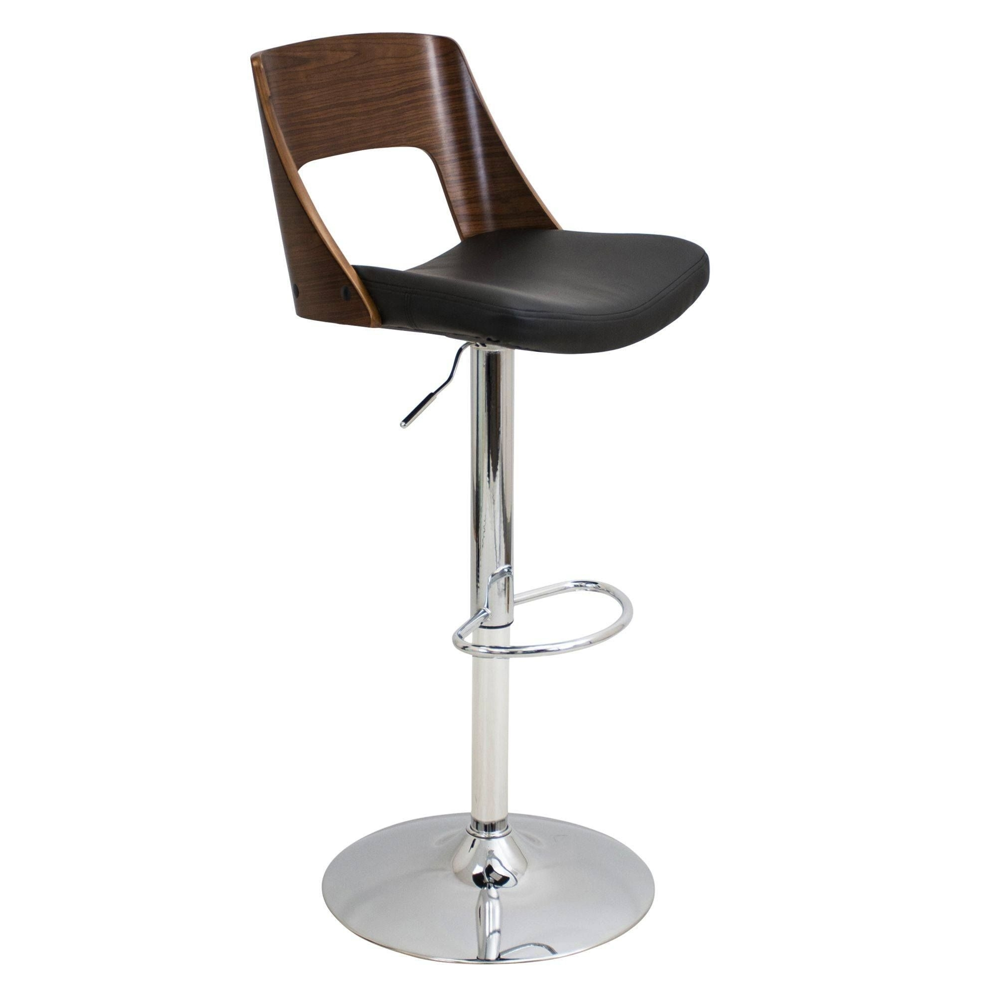 Lumisource Valencia Adjustable Bar Stool | Valencia, Bar Stool And Regarding 2018 Valencia 4 Piece Counter Sets With Bench & Counterstool (Photo 18 of 20)
