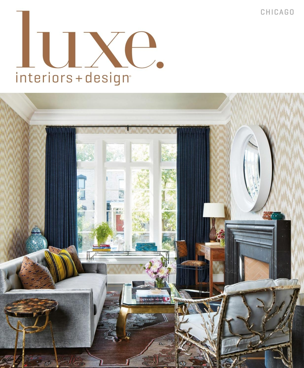 Luxe Magazine May 2017 Chicagosandow® – Issuu With Most Recently Released Palazzo 7 Piece Dining Sets With Mindy Slipcovered Side Chairs (Image 8 of 20)