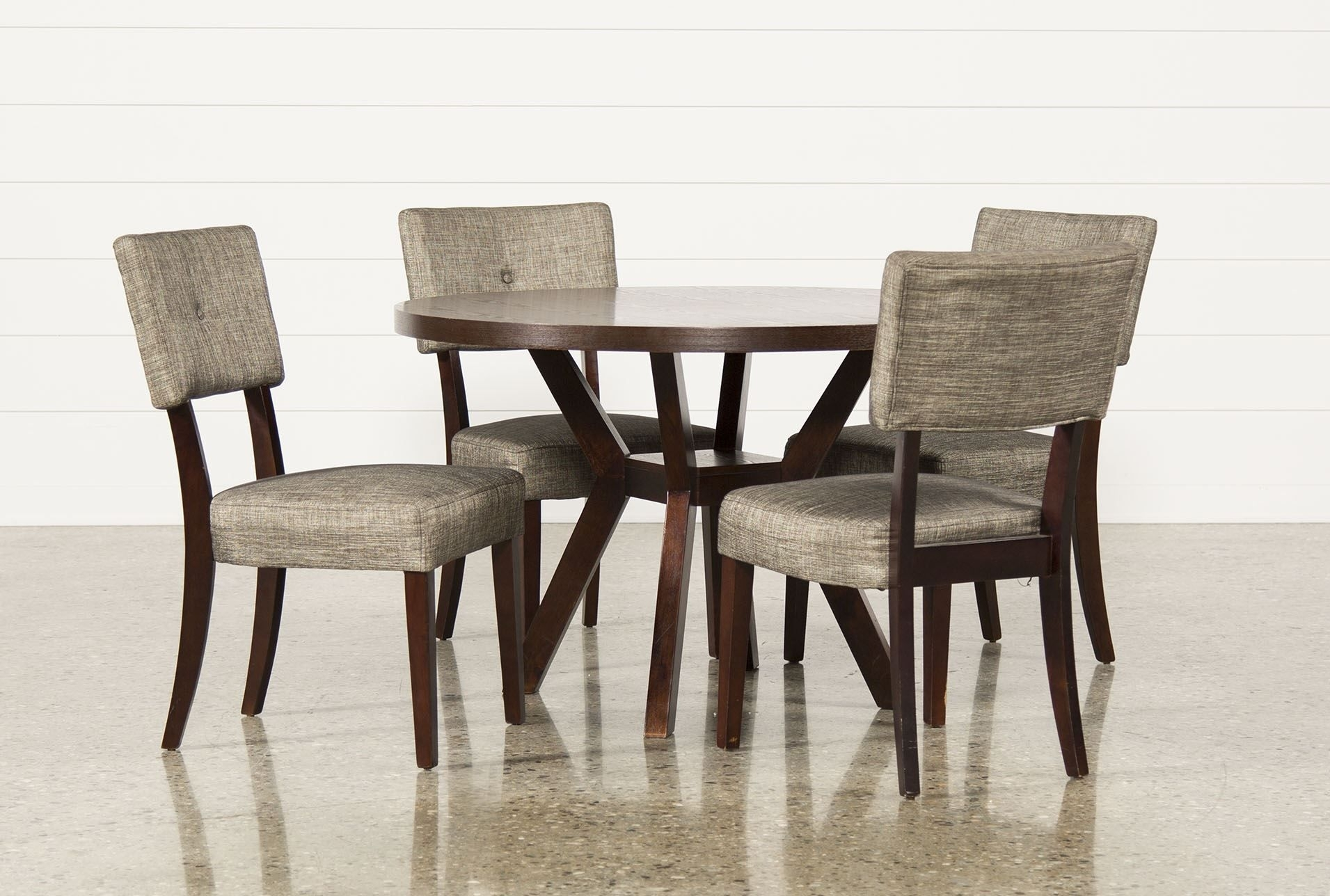 Macie 5 Piece Round Dining Set – Living Spaces | Furniture With Regard To Latest Caden 5 Piece Round Dining Sets (Photo 2 of 20)