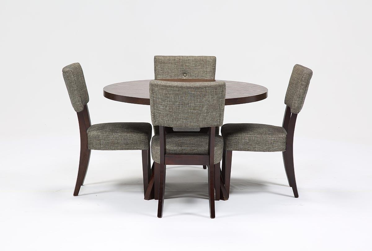 Macie 5 Piece Round Dining Set | Living Spaces Regarding Latest Kirsten 6 Piece Dining Sets (Image 13 of 20)
