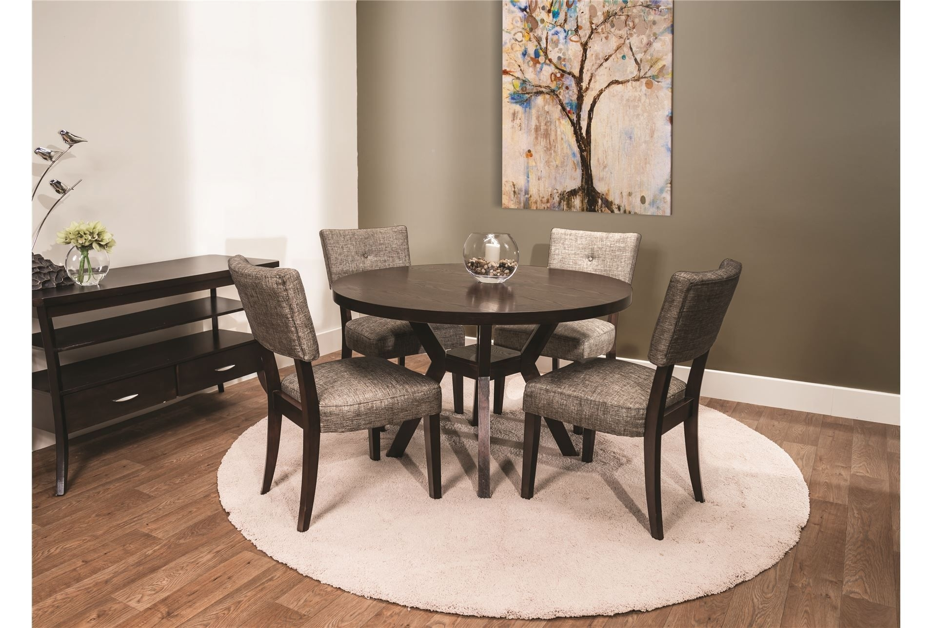 Macie Round 5 Piece Dining | Taj Style | Pinterest | Dining And House With Regard To 2017 Macie 5 Piece Round Dining Sets (Image 16 of 20)