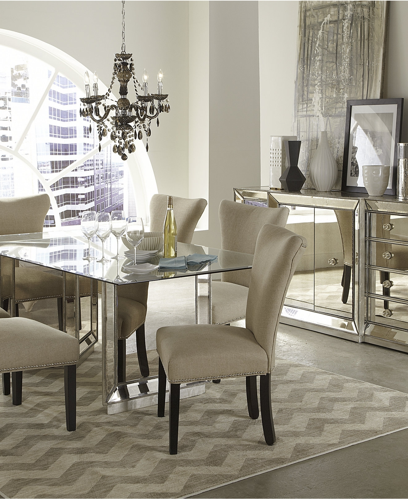 Macy's Round Dining Table Set • Table Setting Design Inside Most Up To Date Macie 5 Piece Round Dining Sets (View 10 of 20)
