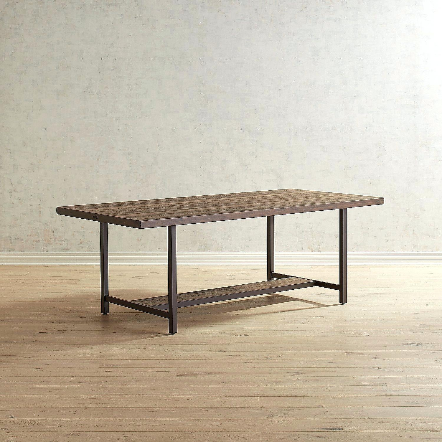 Magnolia Home Dining Table Industrial – Battenhall Regarding Most Up To Date Magnolia Home Shop Floor Dining Tables With Iron Trestle (Image 11 of 20)