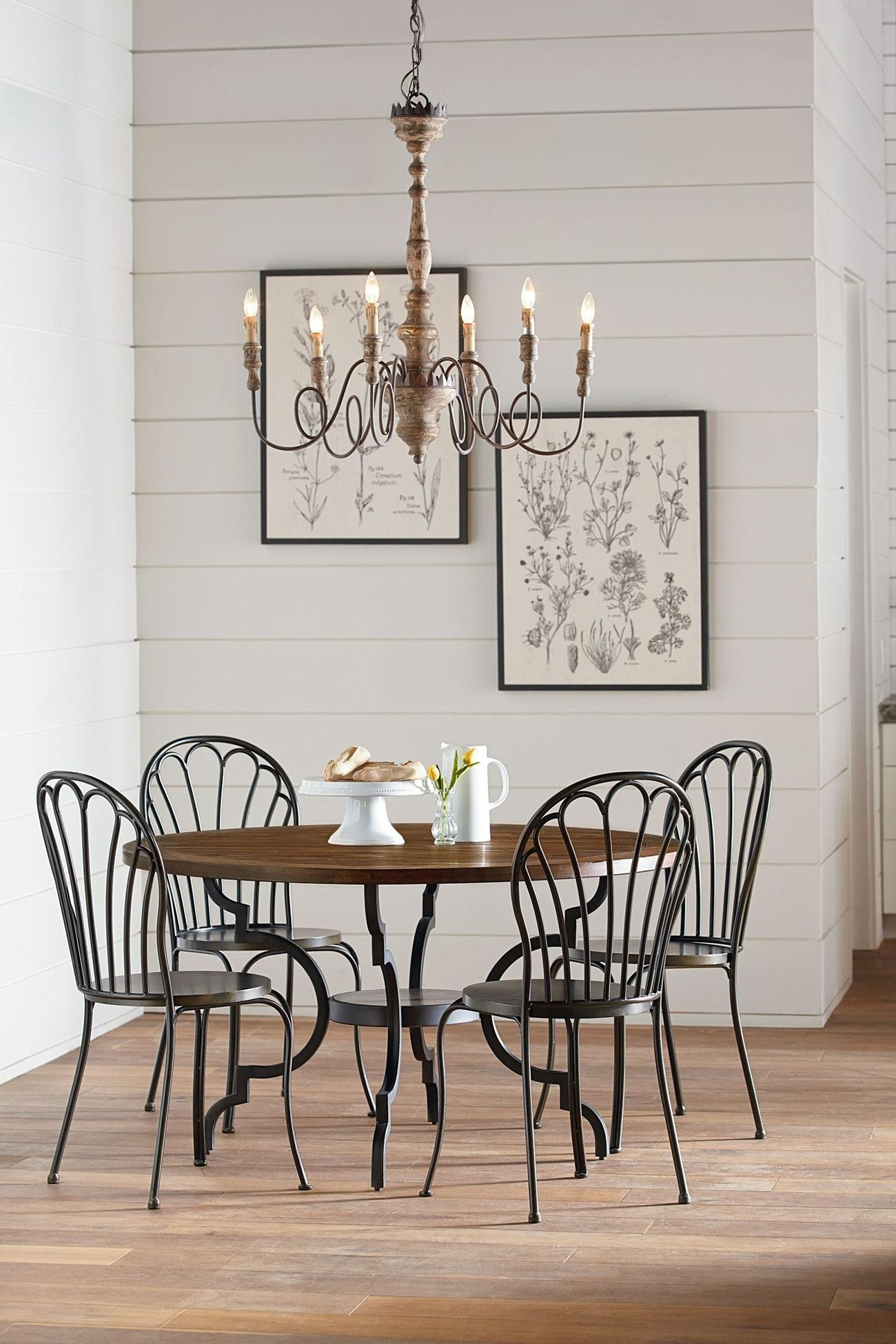 Featured Image of Magnolia Home Breakfast Round Black Dining Tables