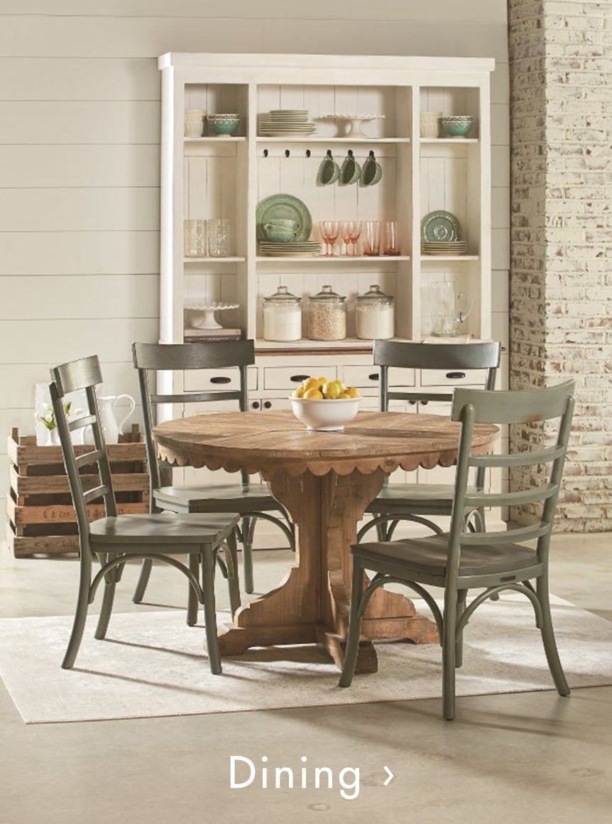 Magnolia Home Furniture | Rc Willey Furniture Store With Regard To Recent Magnolia Home Shop Floor Dining Tables With Iron Trestle (Image 12 of 20)