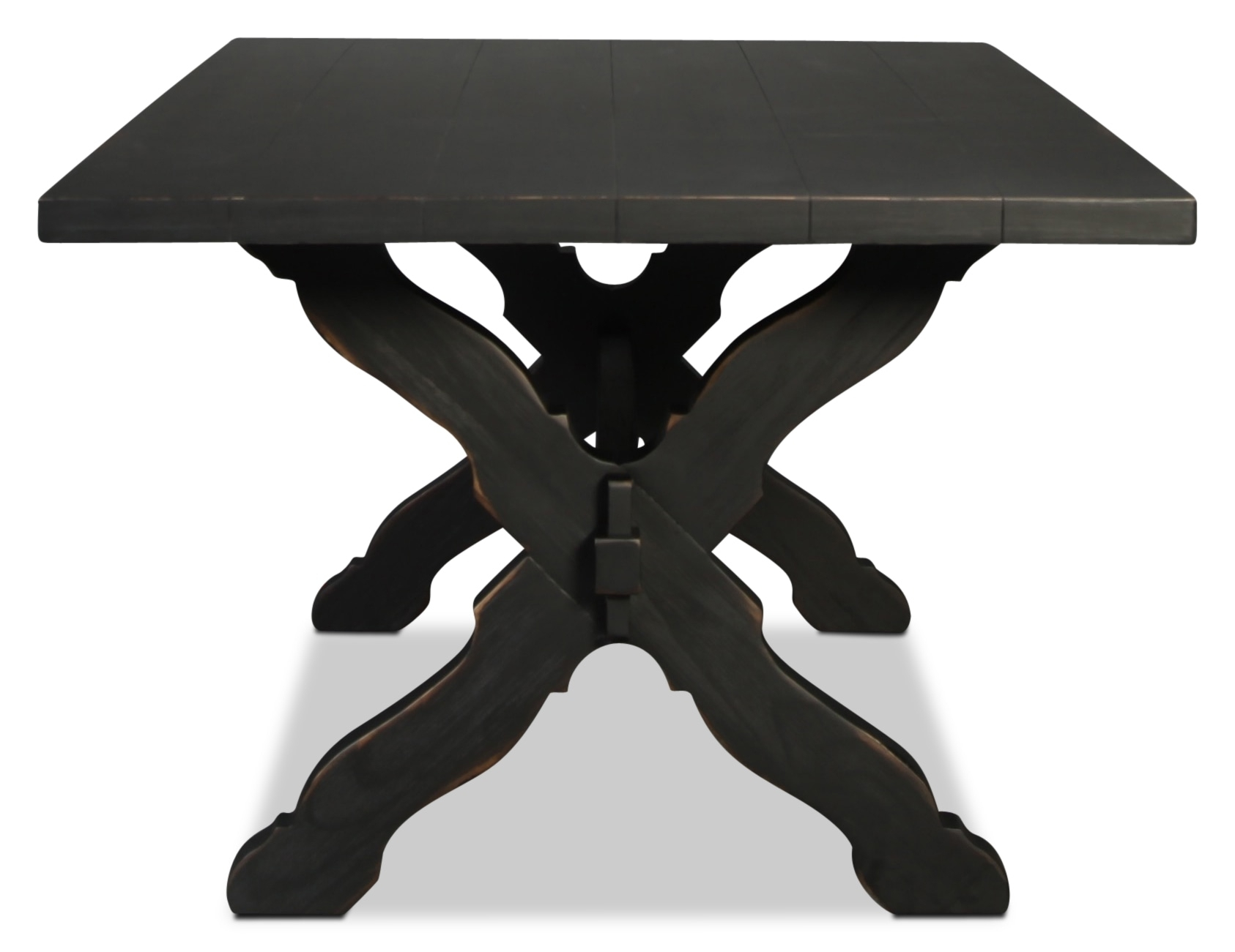 Magnolia Home Primitive Sawbuck Dining Table | Intended For Best And Newest Magnolia Home Sawbuck Dining Tables (Image 12 of 20)