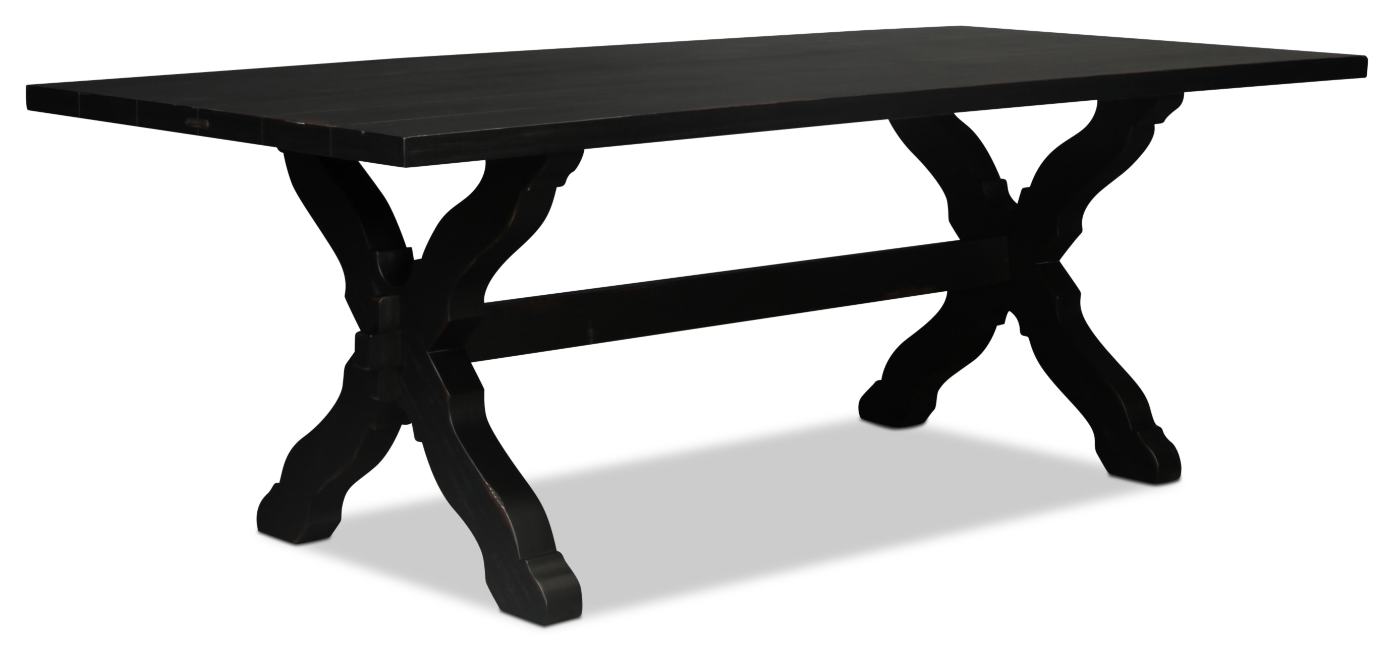 Magnolia Home Primitive Sawbuck Dining Table | With Most Popular Magnolia Home Sawbuck Dining Tables (Image 13 of 20)