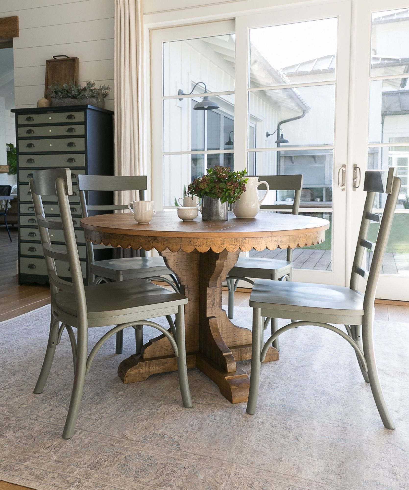 Magnolia Home Top Tier Round Dining Tablejoanna Gaines Inside 2017 Magnolia Home Top Tier Round Dining Tables (Image 9 of 20)