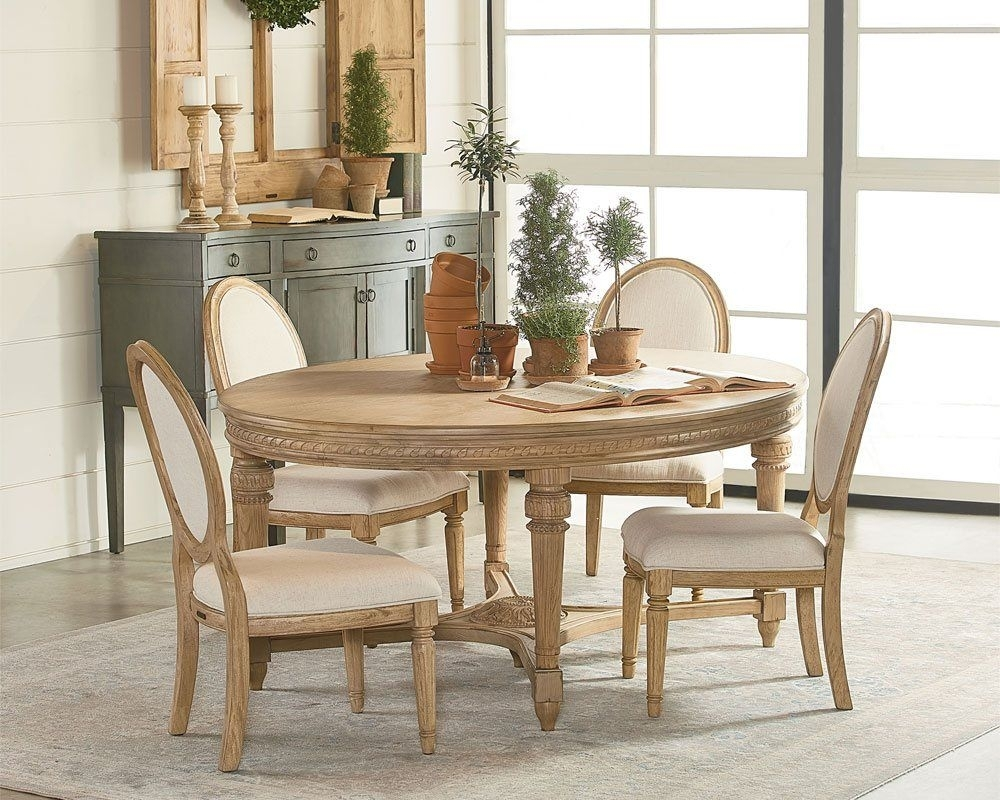 Magnolia Home Traditional Dining Table | Magnolia Home Furniture And Intended For 2017 Magnolia Home Top Tier Round Dining Tables (Image 10 of 20)