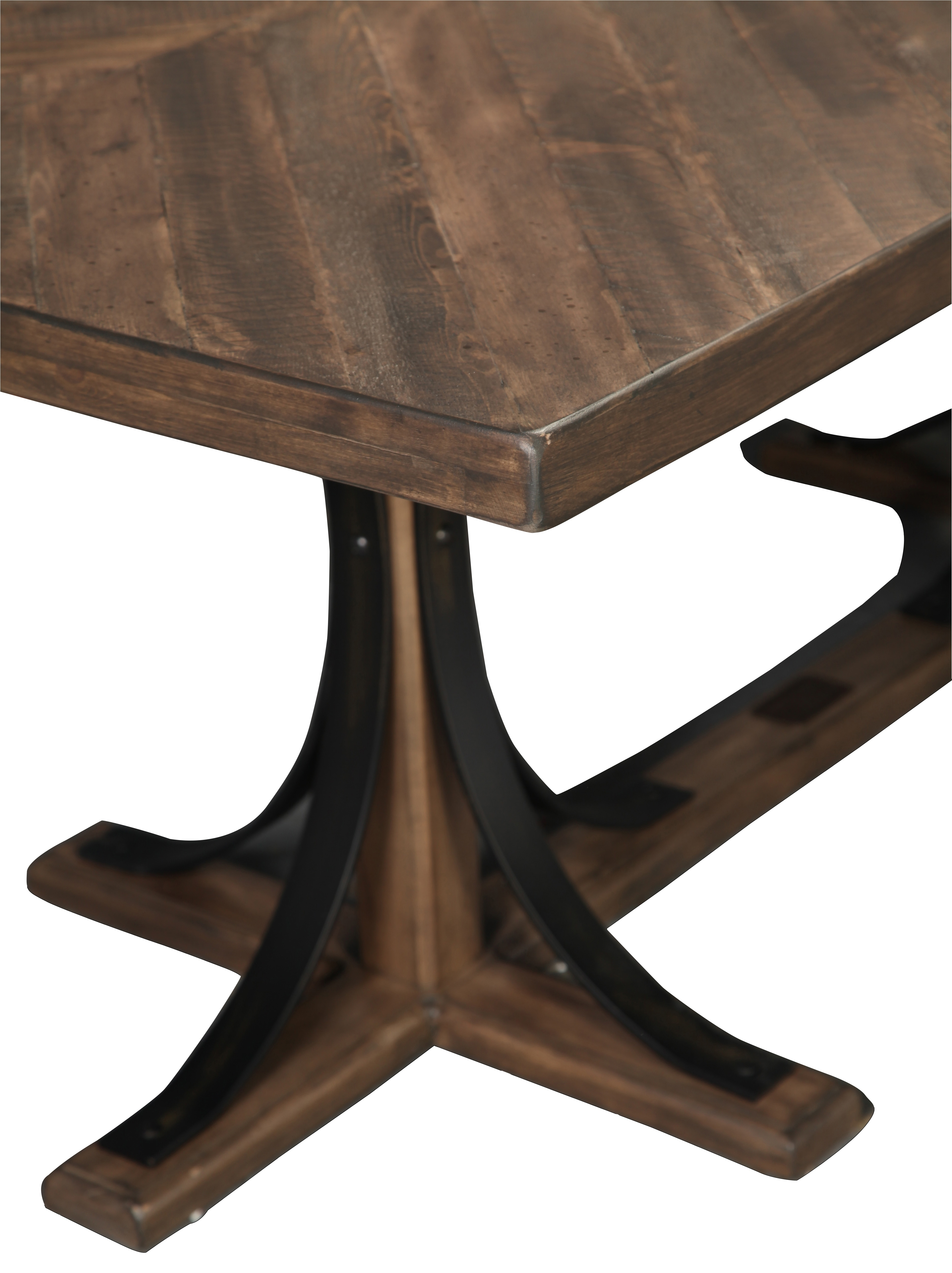 Magnolia Home Traditional Iron Trestle Table | Throughout Recent Magnolia Home Shop Floor Dining Tables With Iron Trestle (Photo 5 of 20)