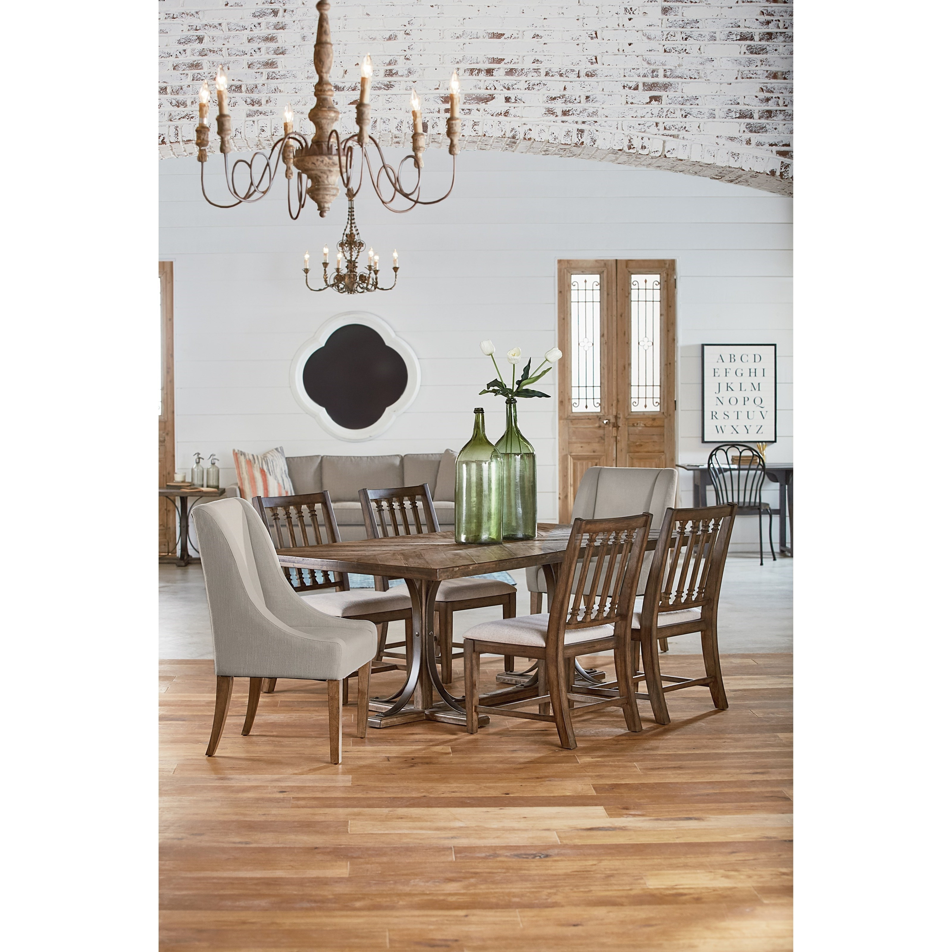 Magnolia Homejoanna Gaines Traditional Traditional Dining With With Regard To 2017 Magnolia Home Top Tier Round Dining Tables (Image 14 of 20)