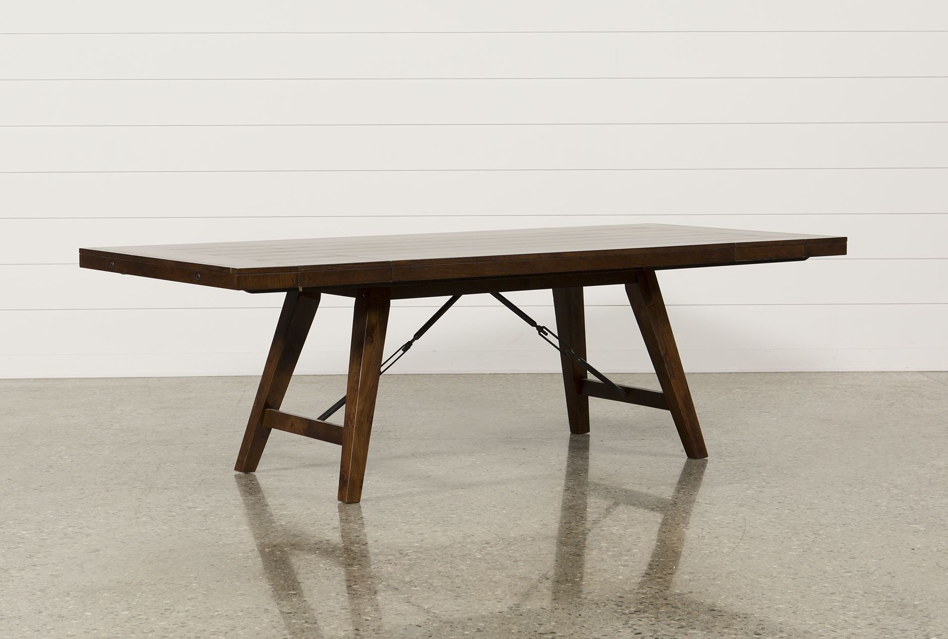 Malcolm Extension Dining Table – Living Spaces | For The Home In Most Current Rocco Extension Dining Tables (Image 5 of 20)