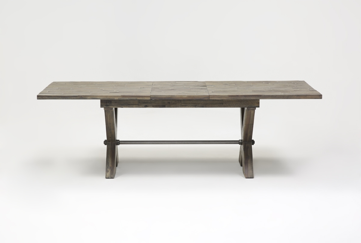 Mallard Extension Dining Table | Living Spaces In Most Up To Date Mallard Extension Dining Tables (Image 16 of 20)