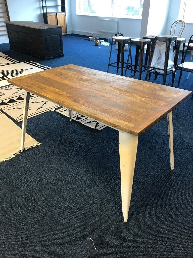 Mango Wood & Iron Dining Table | In Petersfield, Hampshire | Gumtree Pertaining To Most Recently Released Mango Wood/iron Dining Tables (Photo 7 of 20)