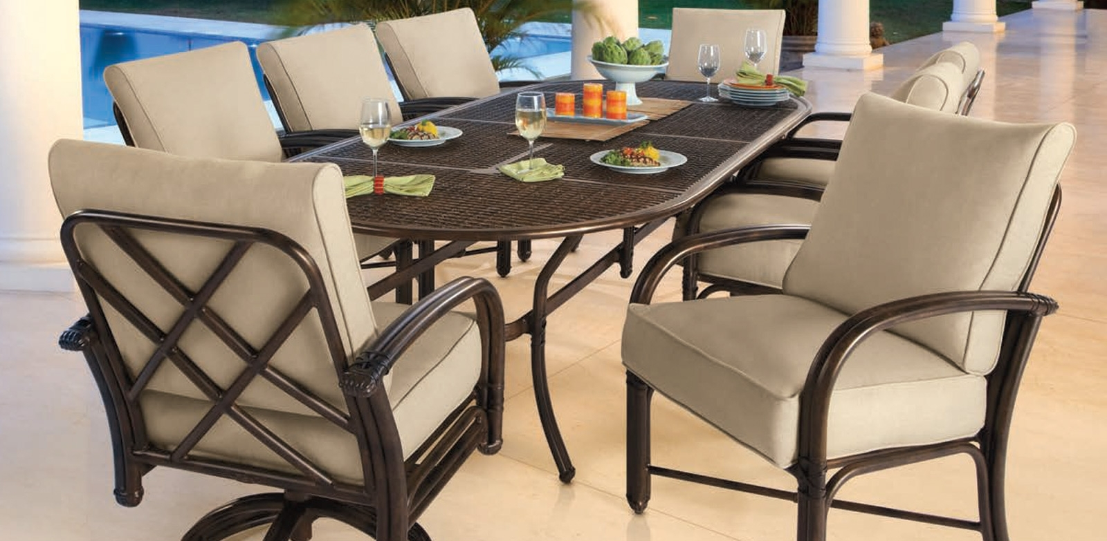 Meridian Collection In Costa Rica | Costa Rica Furniture – Custom In Most Popular Outdoor Sienna Dining Tables (Photo 18 of 20)