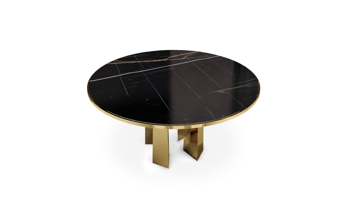 Mills Dining Tableporustudio | Breath Out Creativity Throughout Newest Laurent Rectangle Dining Tables (Image 16 of 20)