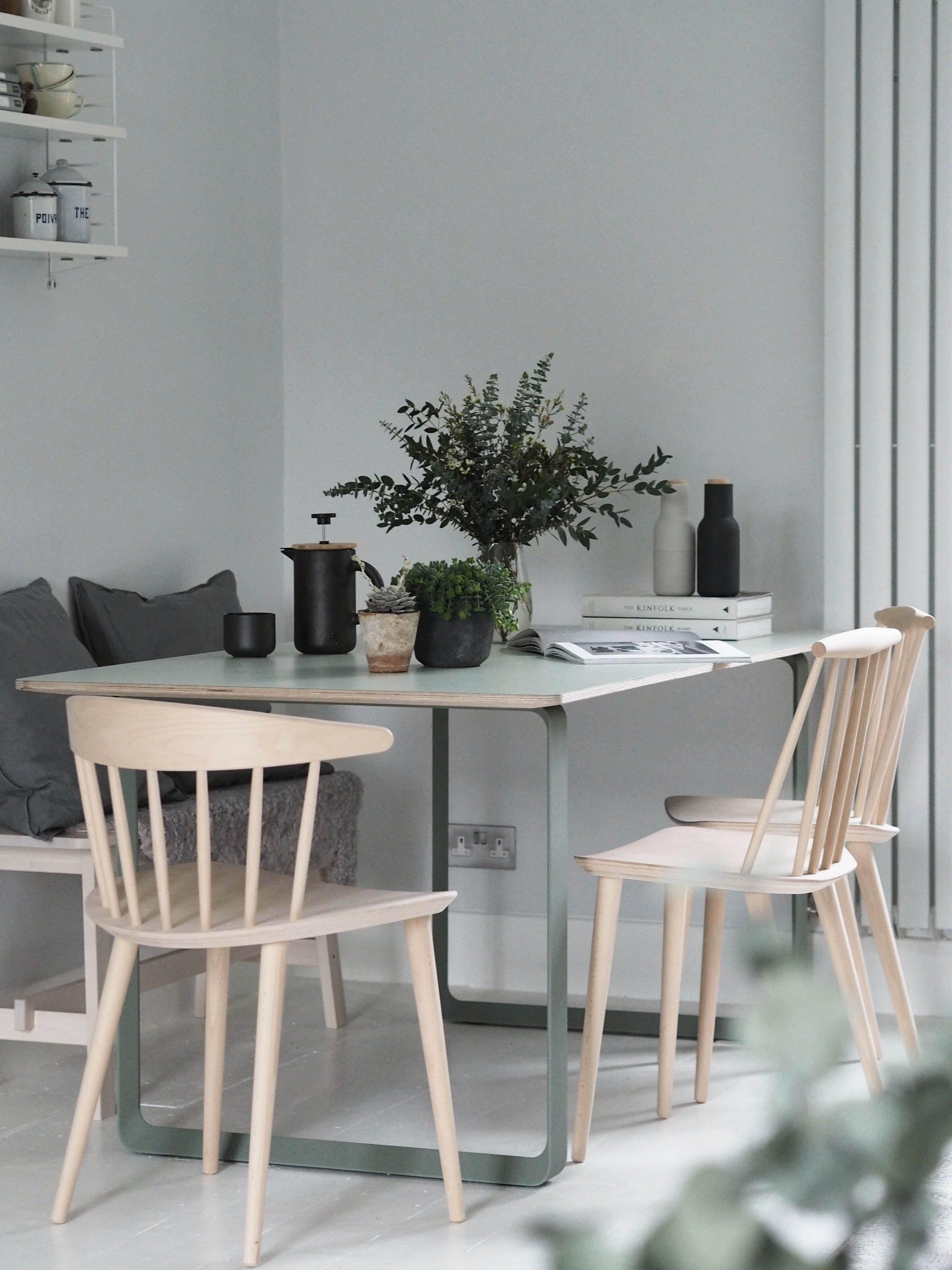 My Muuto 70/70 Table – Modern Scandinavian Design Dining Table | I With Regard To Latest Lassen 7 Piece Extension Rectangle Dining Sets (Image 9 of 20)