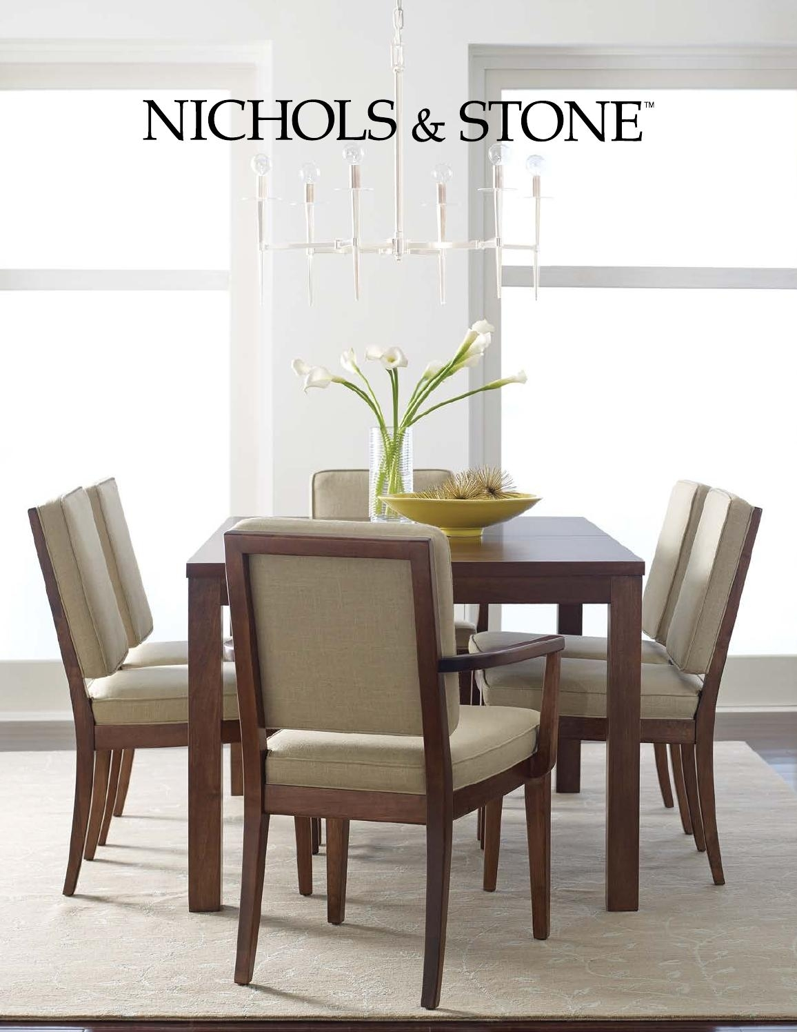 Nichols & Stone Catalogstickley – Issuu Intended For Most Recent Walden Extension Dining Tables (Image 8 of 20)
