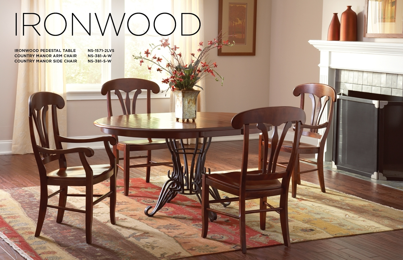 Nichols & Stone For Most Recently Released Helms 5 Piece Round Dining Sets With Side Chairs (Image 17 of 20)