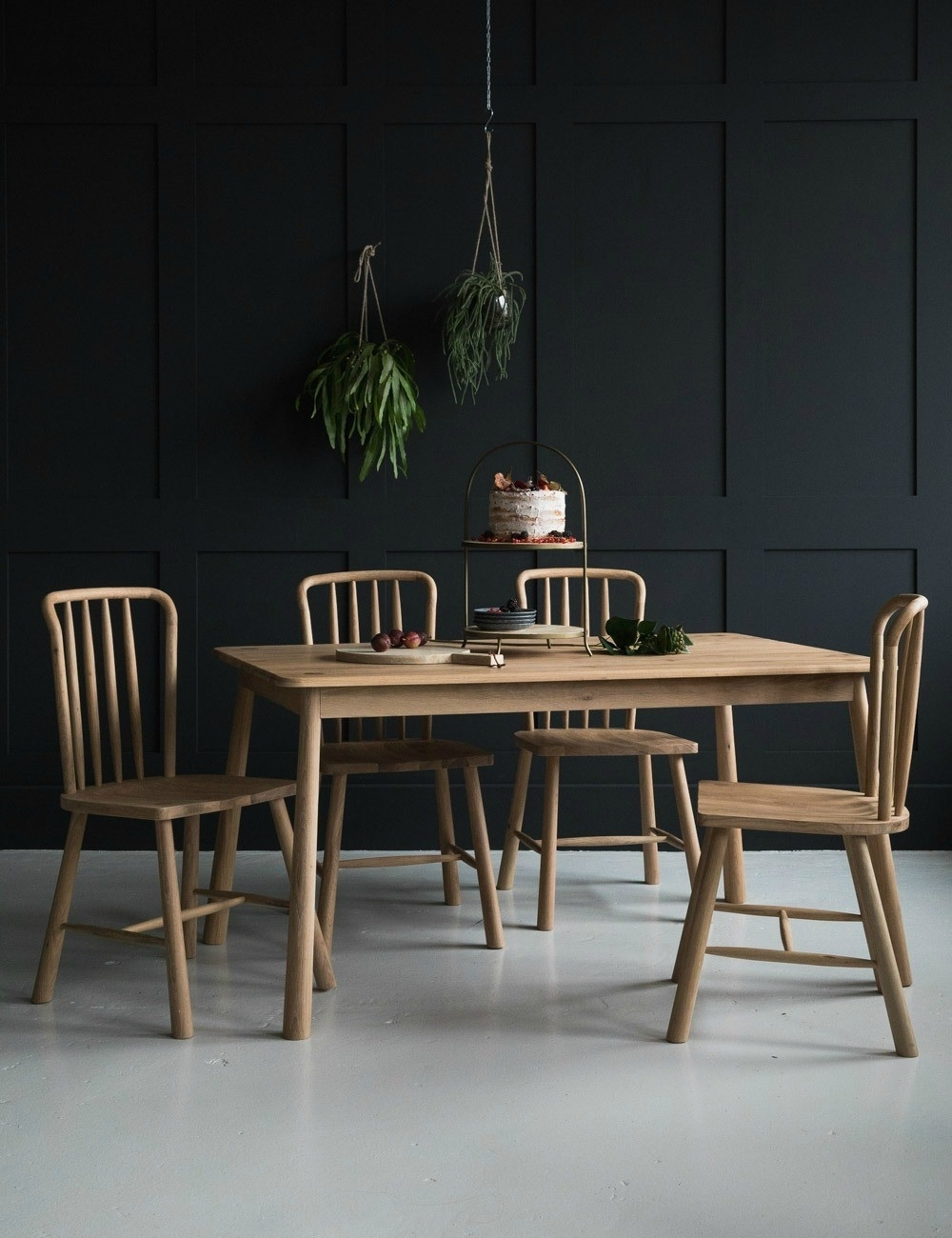 Nordic Wooden Dining Tablerose & Grey With Best And Newest Delfina Dining Tables (Image 11 of 20)