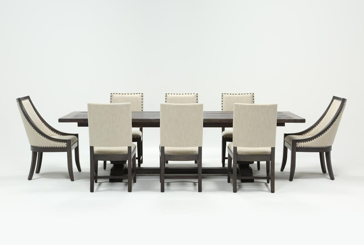 Norwood 9 Piece Rectangle Extension Dining Set | Living Spaces Within Most Popular Norwood 9 Piece Rectangle Extension Dining Sets (Photo 1 of 20)