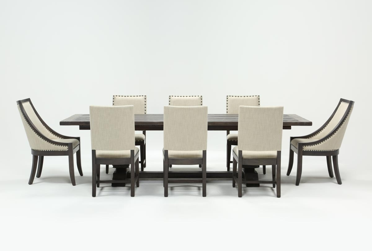 Norwood 9 Piece Rectangle Extension Dining Set | Living Spaces Within Most Recent Norwood Rectangle Extension Dining Tables (Image 9 of 20)