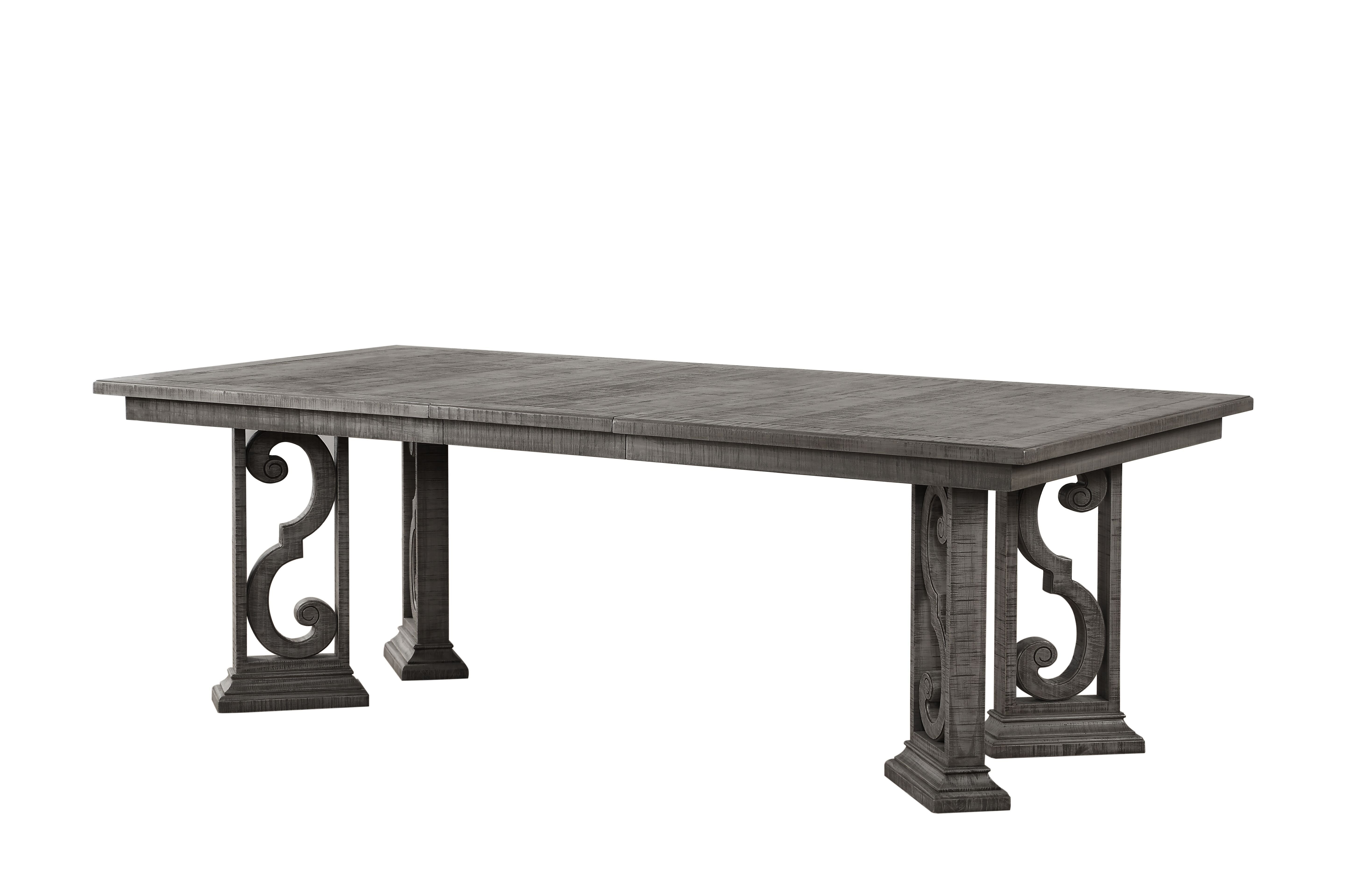 One Allium Way Candice Extendable Dining Table | Wayfair In Most Recently Released Candice Ii Extension Rectangle Dining Tables (Image 16 of 20)