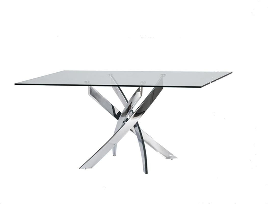 Orren Ellis Camron Modern Dining Table & Reviews | Wayfair For Most Popular Norwood 6 Piece Rectangular Extension Dining Sets With Upholstered Side Chairs (View 18 of 20)