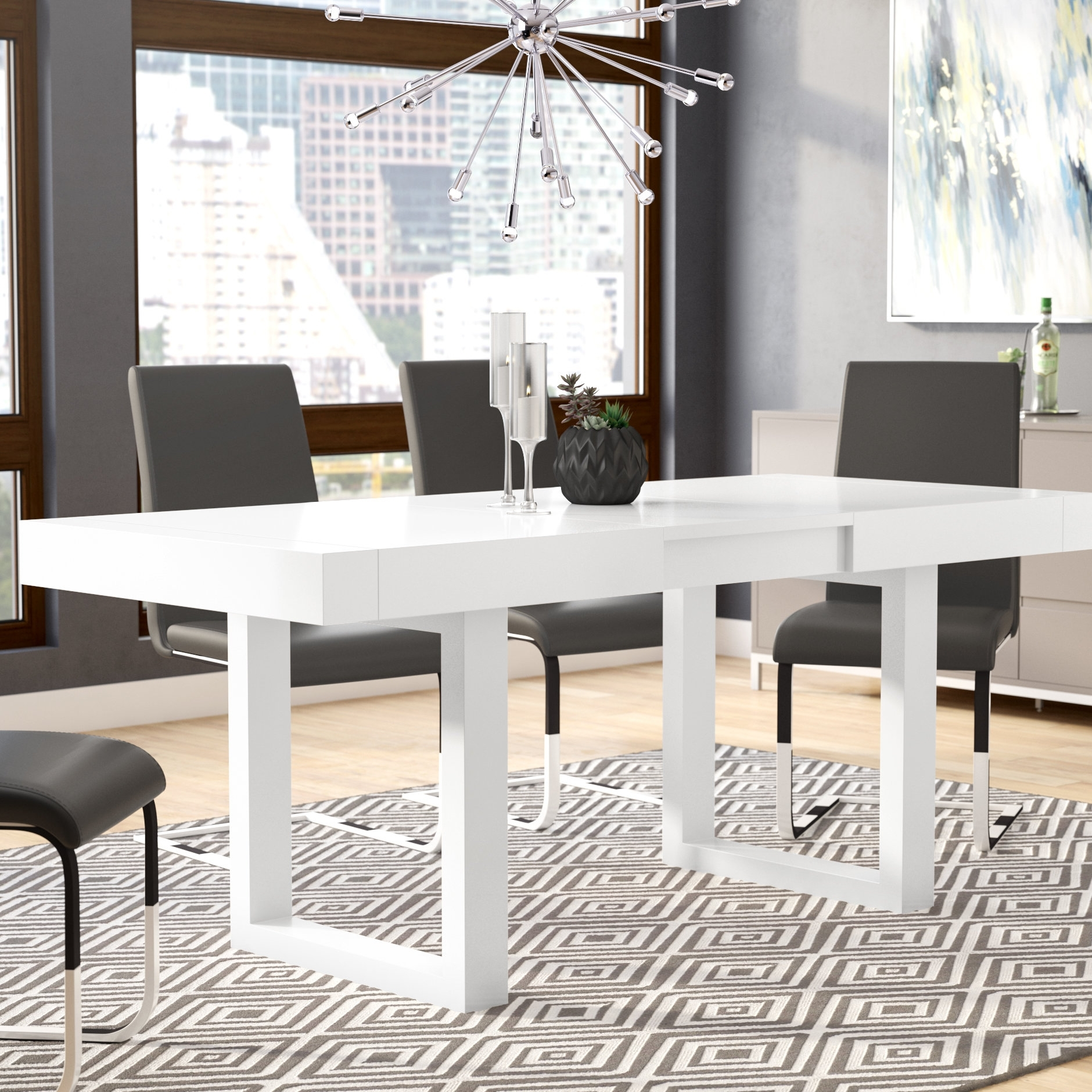 Orren Ellis Marissa Expandable Dining Table & Reviews | Wayfair Inside 2018 Delfina Dining Tables (Image 12 of 20)