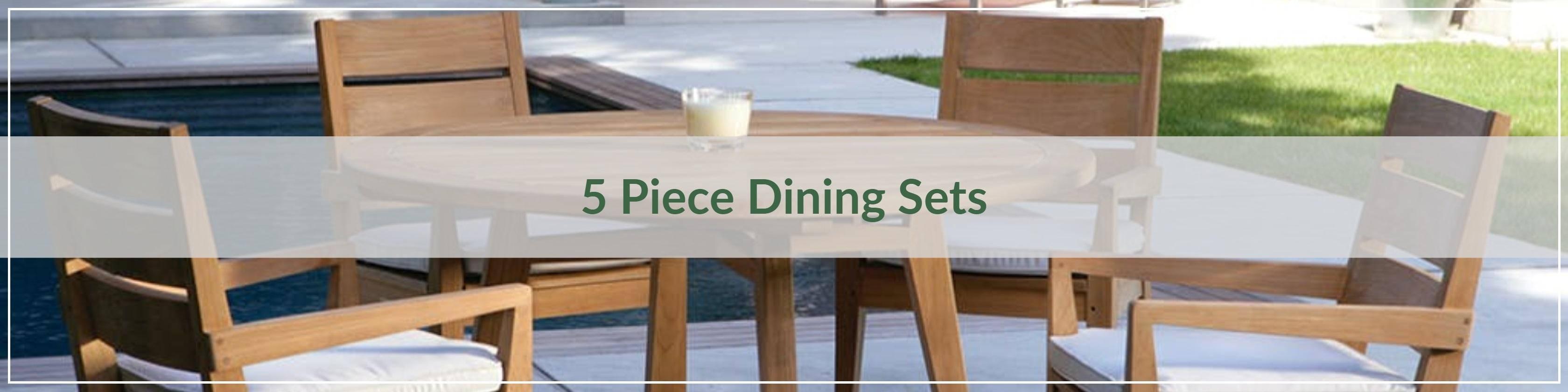 Outdoor Dining – Outdoor Dining Sets – 5 Piece Dining Sets – Page 1 Regarding Latest Jensen 5 Piece Counter Sets (Image 19 of 20)
