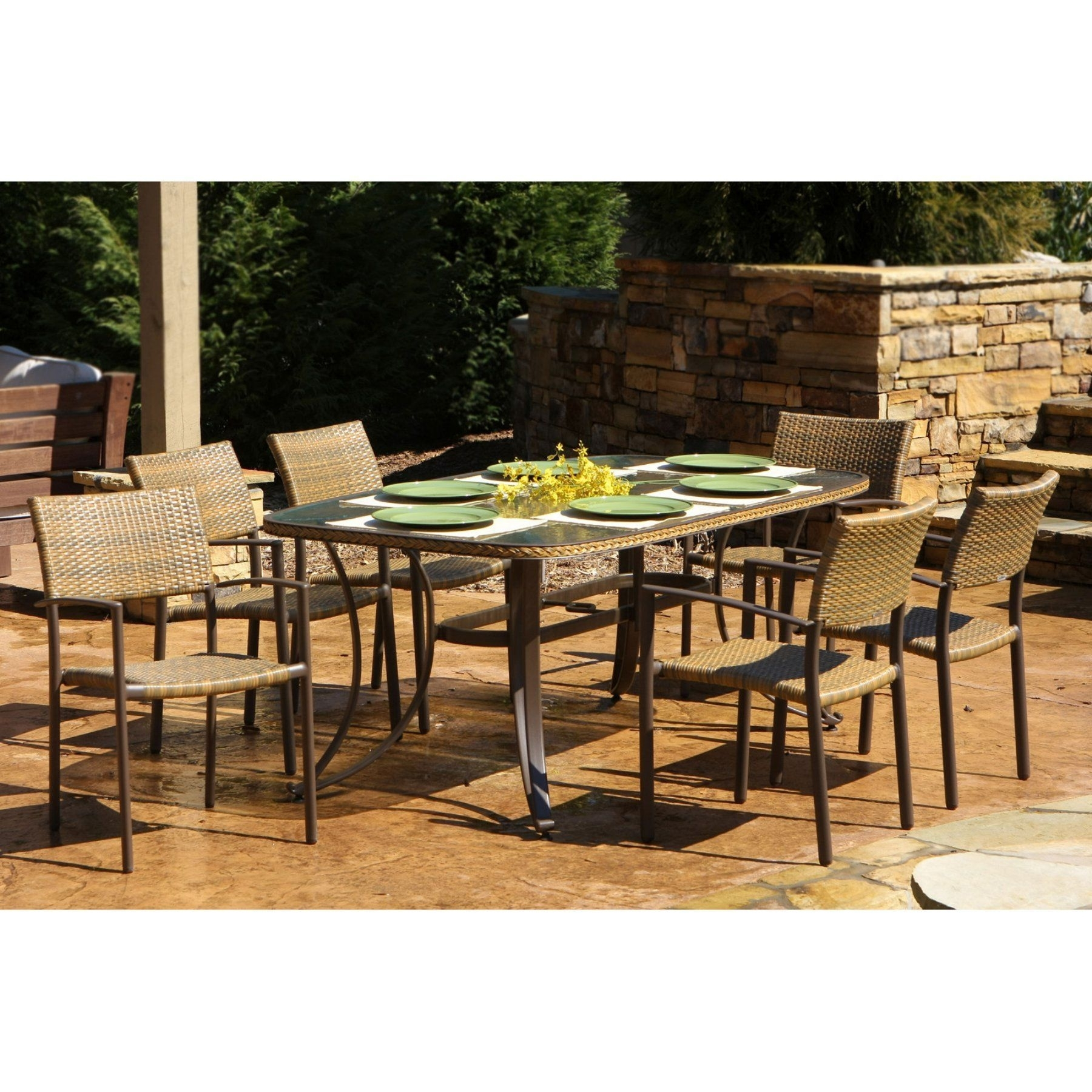 Outdoor Tortuga Maracay 7 Piece Patio Dining Set – Mard 007 | Patio Inside Most Recent Outdoor Tortuga Dining Tables (View 12 of 20)
